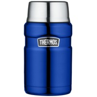 thumb-Stainless King™ Food Jar (0.71L - Metallic Blauw)-1