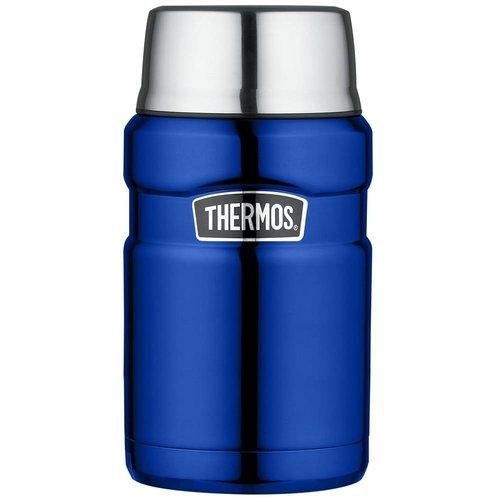 Thermos® Stainless King™ Food Jar (0.71L - Metallic Blauw)