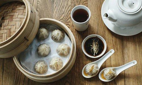 Xiaolongbao (Shanghai Dumplings) bij Din Tai Fung 鼎泰豐