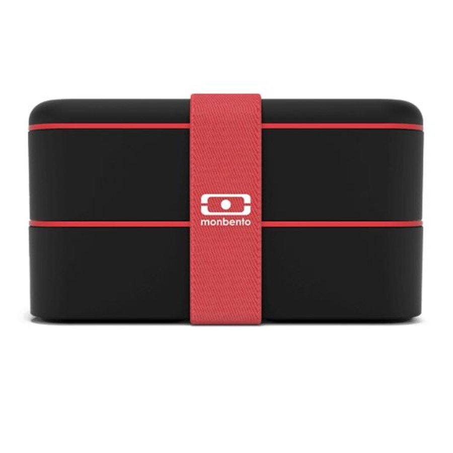 Bento Box Original (Zwart/Rood)-7