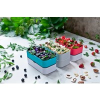 thumb-Bento Box Original (Coton/Rood)-5