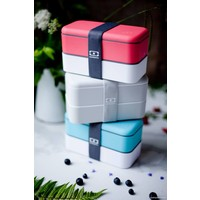 thumb-Bento Box Original (Coton/Rood)-4