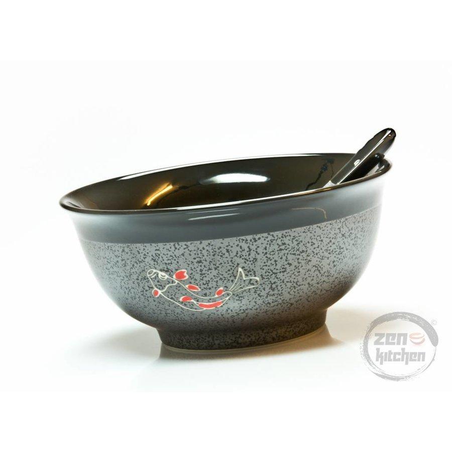 Bowl Koi incl. Spoon-2
