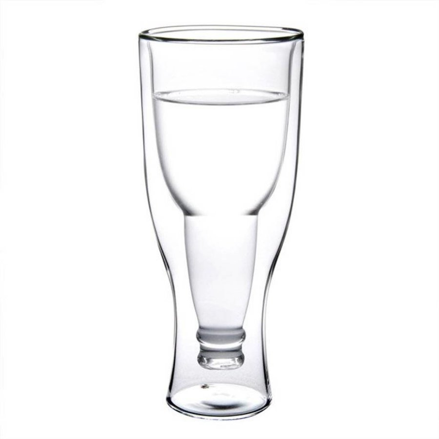 Upside Down Beer Bottle Glass-2