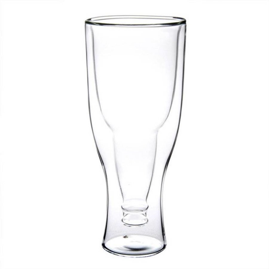 Upside Down Beer Bottle Glass-3