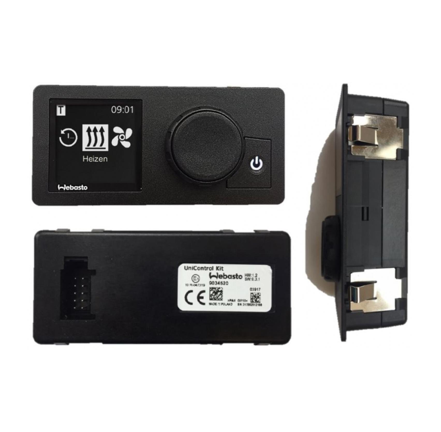 Webasto Webasto Kit Unicontrol 1531 digitale klok 12/24v