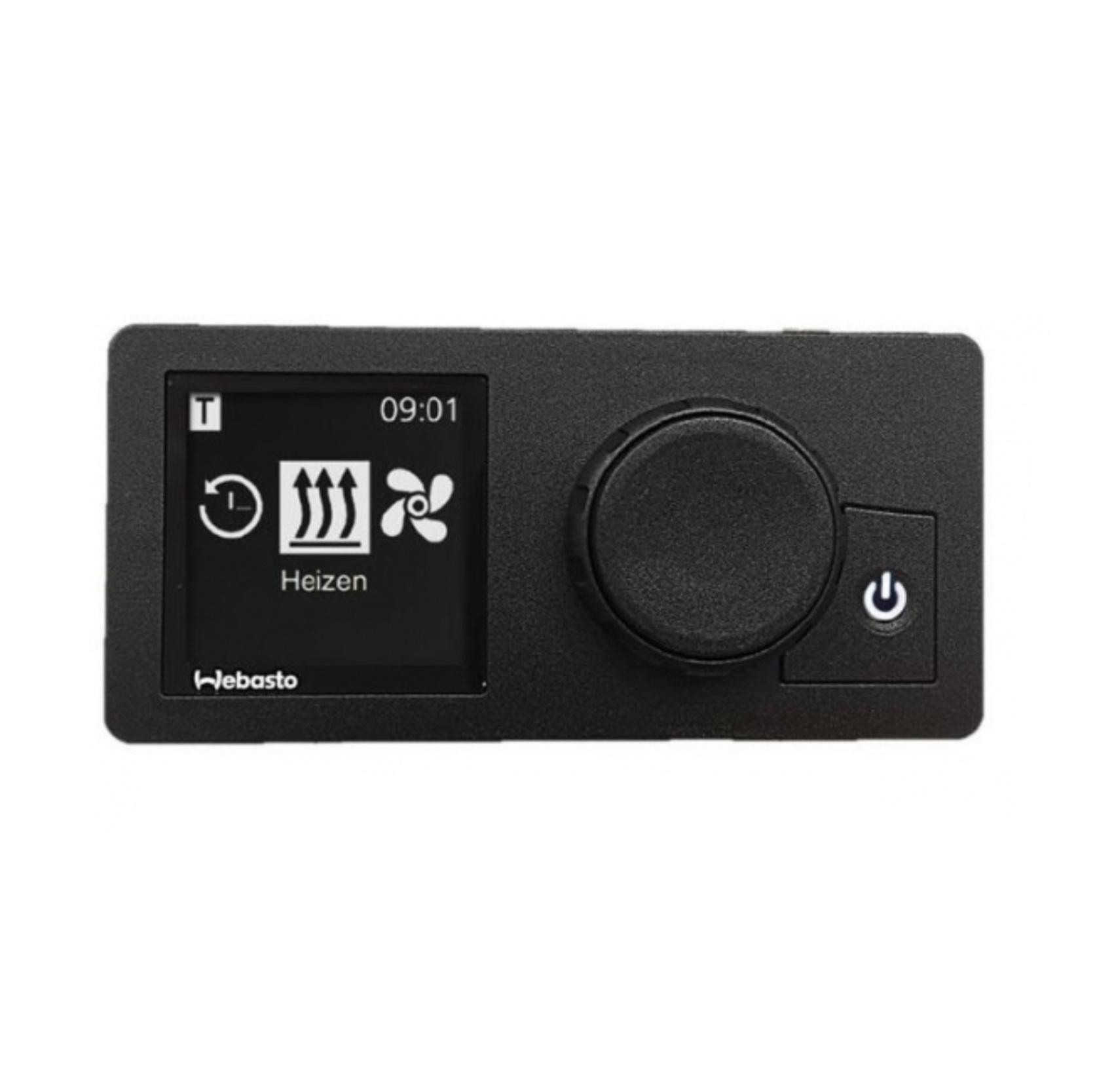 Digitale klok unitcontrole w