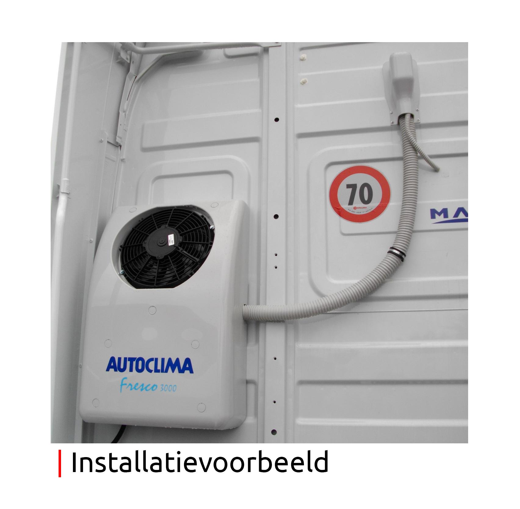 AUTOCLIMA Autoclima Fresco 3000 Back 24v 950W