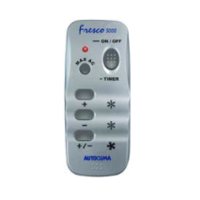 Autoclima Fresco 3000 afstandsbediening