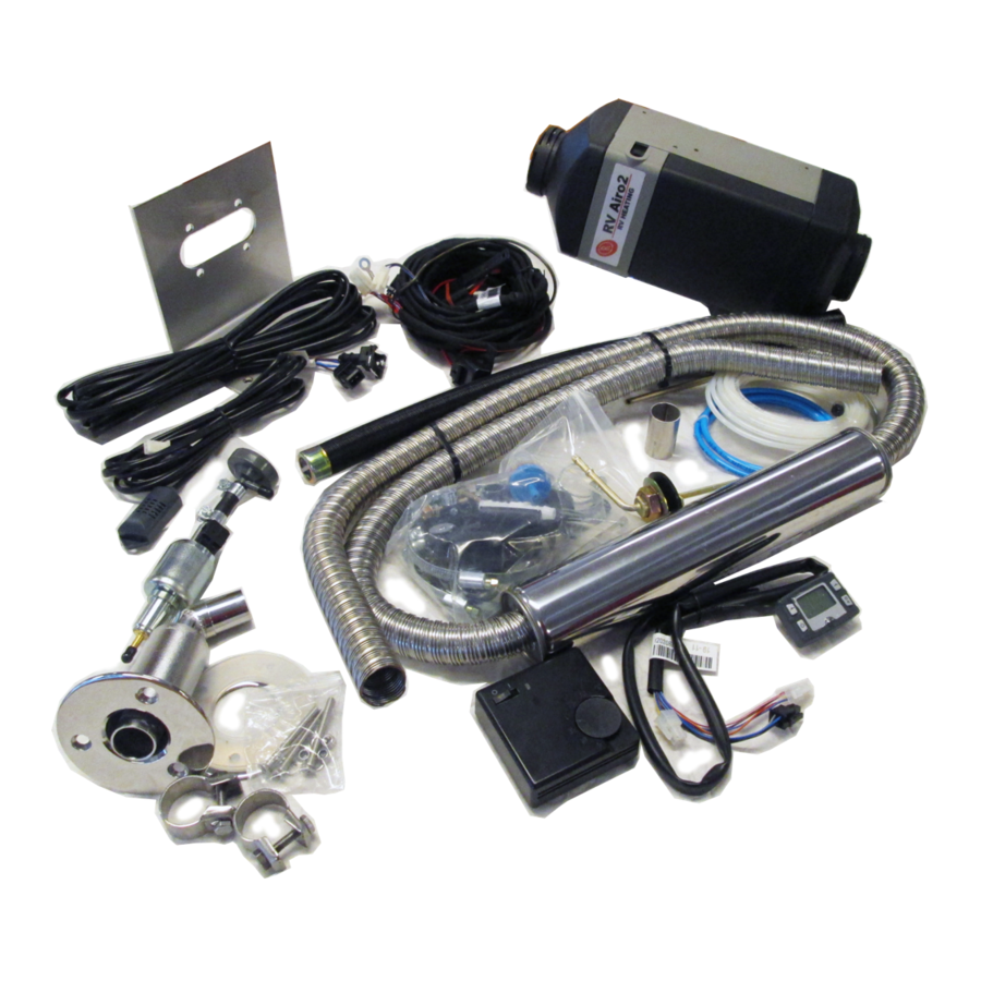 RV-Heating Airo2 Boot Set 24V Diesel-1