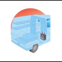 thumb-Autoclima Evaporator EV40/3 verti  24v (cooling)-2
