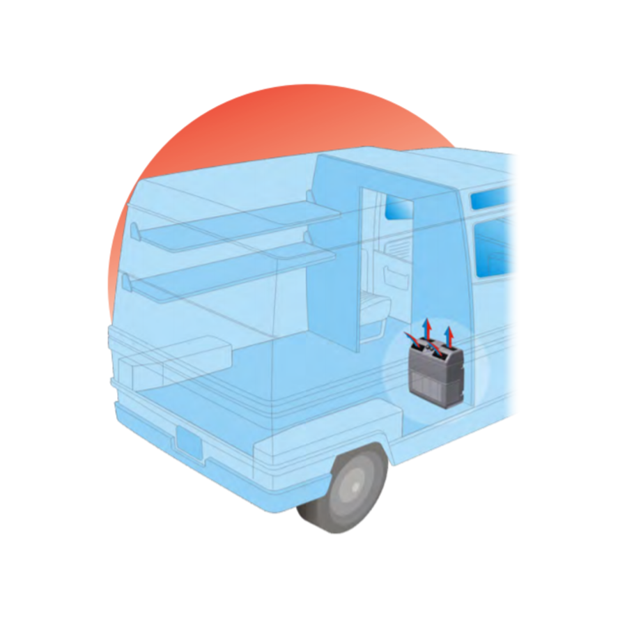 Autoclima Evaporator EV40/3 verti  24v (cooling)-2