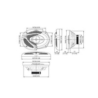 thumb-Kenwood speakerset KFC-M6932A-4