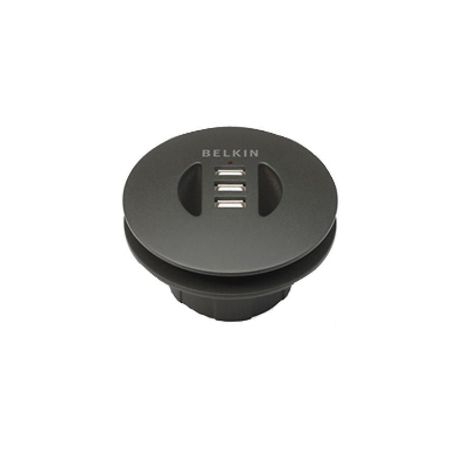 Belkin flexible-fit-in-desk USB hub-1