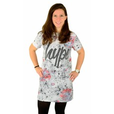 Hype Speckle Rose Tee Dress Multi