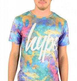 Hype Silk T-Shirt Multi