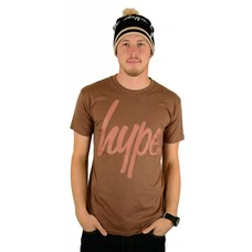 Hype Script T-Shirt Chestnut/Neutral