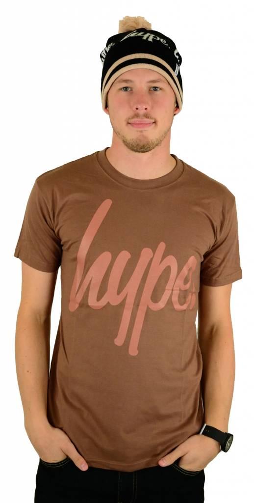 Hype Script T-Shirt Chestnut/Neutral