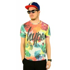 Hype Rainbow Butterflies T-Shirt Multi