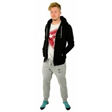Hype Grey Marl Panneld Joggers Grey