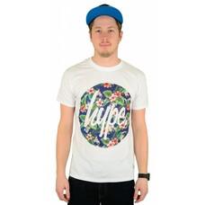 Hype Flower Circle T-Shirt White