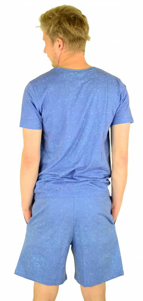 Hype Cyan Speckle Shorts Multi
