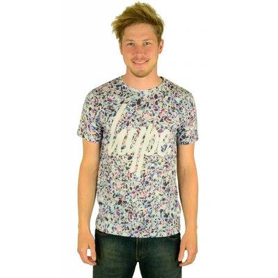 Hype HYPE Clothing Broken Glass Script T-Shirt Multi