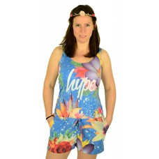 Hype Blue Lagoon Playsuit Multi
