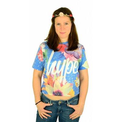 Hype Blue Lagoon kurzes T-Shirt Multi