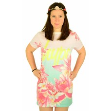 Hype Beach Sunrise Tee Dress Multi