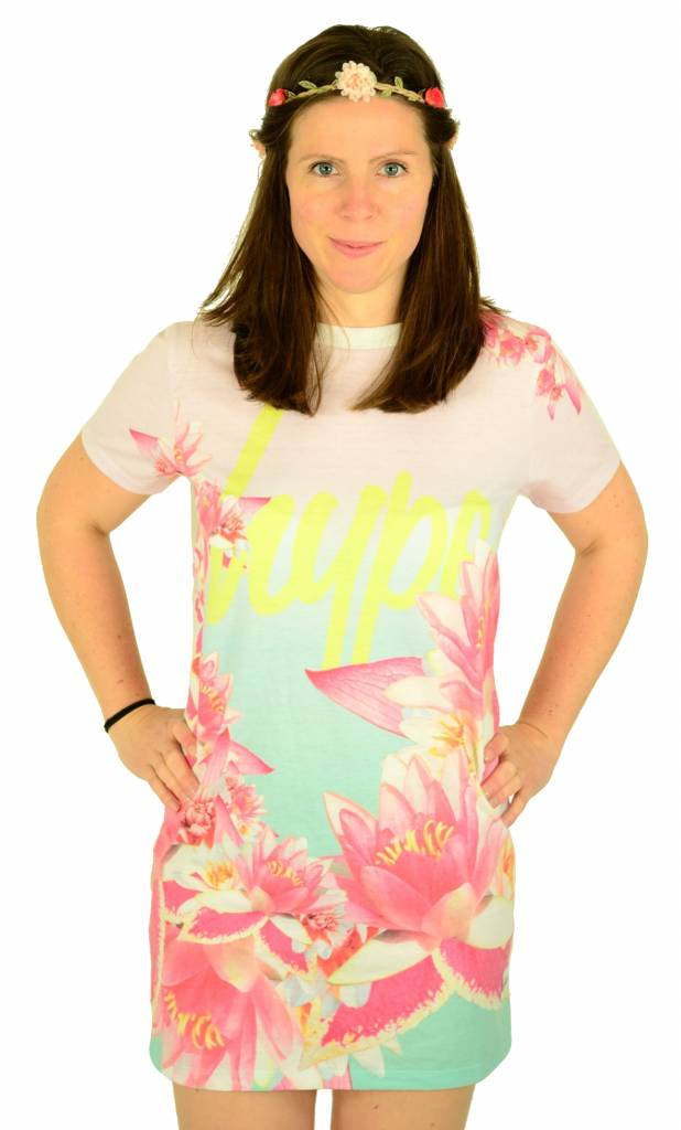 Hype Beach Sunrise Tee Dress Multi