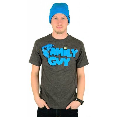 Famous Stars and Straps X Family Guy Fam T-Shirt Charcoal Heather