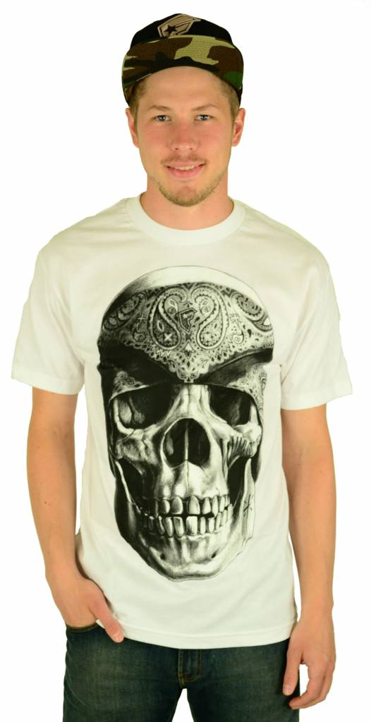 Famous Stars and Straps Vatos Locos T-Shirt White