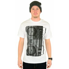 Famous Stars and Straps US Soundystem T-Shirt White