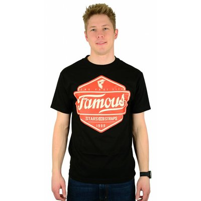 Famous Stars and Straps Top Choice T-Shirt Black/Red