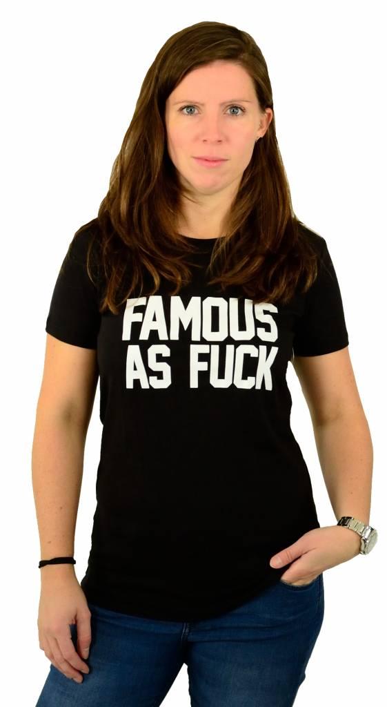 Famous Stars and Straps Status T-Shirt Black