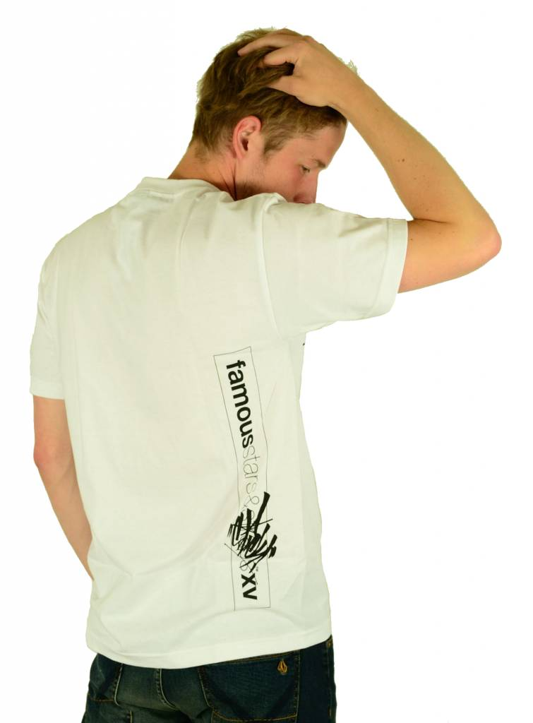 Famous Stars and Straps Slick FAF T-Shirt White