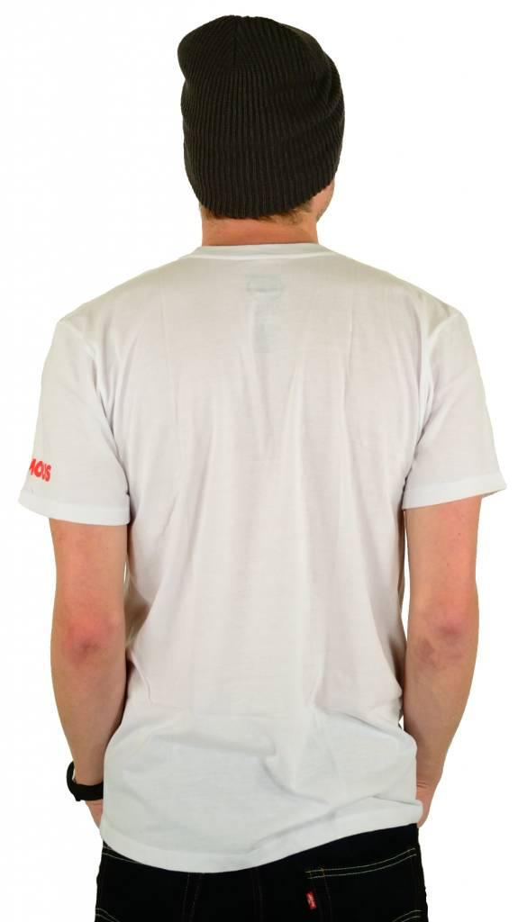 Famous Stars and Straps Skull Bloom Premium T-Shirt White