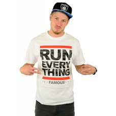 Famous Stars and Straps Run Everything T-Shirt White