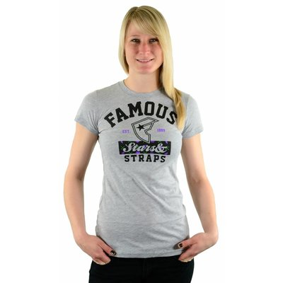 Famous Stars and Straps Rodgers Crew-Neck Tee Heather