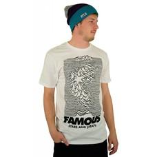 Famous Stars and Straps Pulsar Premium T-Shirt Black/White