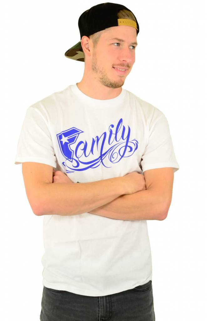 Famous Stars and Straps New Family T-Shirt White
