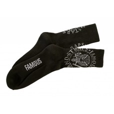 Famous Stars and Straps Anarchy Socks Black