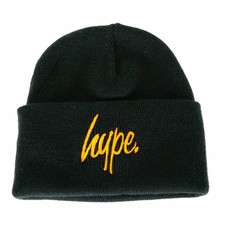 Hype Script Beanie Navy/Orange