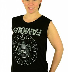 Famous Stars and Straps Influx Tank Top Black