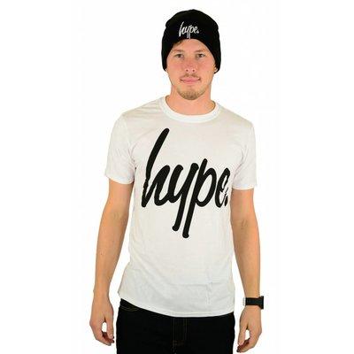 Hype Script T-Shirt White/Black