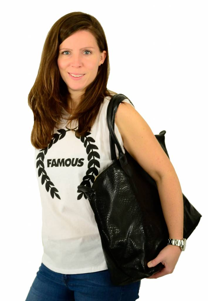 Famous Stars and Straps Turnt Wreath Muskel T-Shirt White