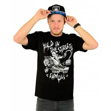 Famous Stars and Straps Sanchez Road Warrior T-Shirt Black