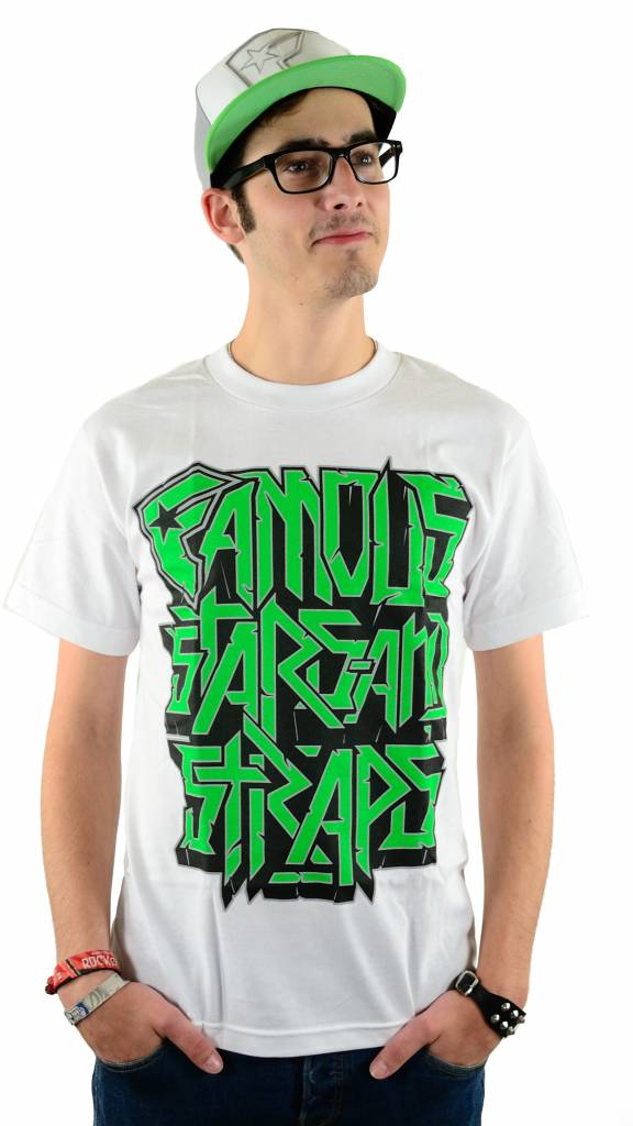 Famous Stars and Straps Overstacked T-Shirt White