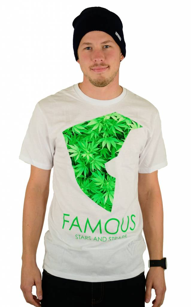 Famous Stars and Straps Medicinal Premium T-Shirt White